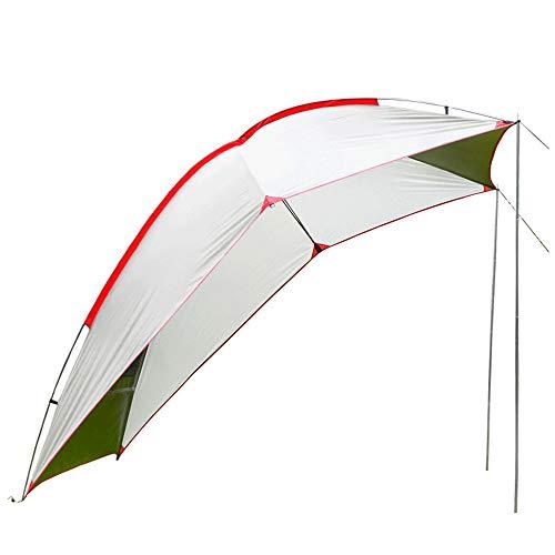 Faltbare Anhänger Markise, Zelt, 5-8 Personen Sonnenschutzhalle, wasserdicht und UV-beständig, geeignet für Strand Camping Picknick Grill und Verschiedene Modelle (Parteien Für Boden-abdeckungen)