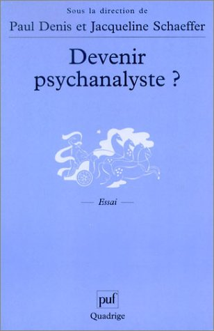 Devenir psychanalyste ? par Collectif