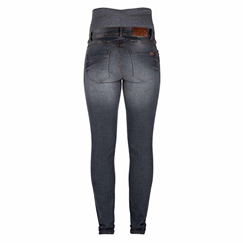 Love2Wait Damen 34-inch Sophia Jeans Grey Denim