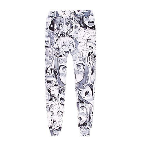 e2ae6d1f8a7d9 Pantalones Fernando Guapo de Dibujos Animados para Mujer con Estampado 3D  de Anime, Unisex,