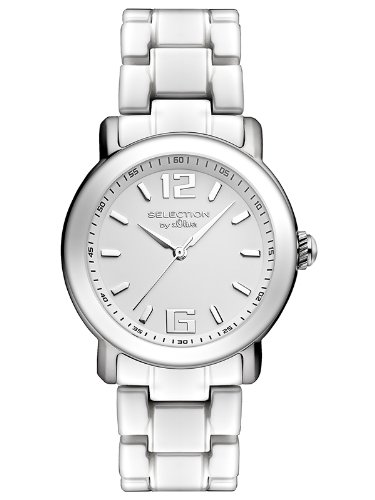 s.Oliver Damen-Armbanduhr Analog Quarz Keramik SO-2539-CQ