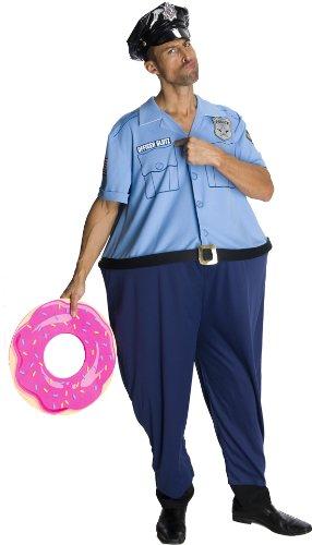 Rubie's Büro Glutz - Lustige Policeman - Adult Kostüm - 44