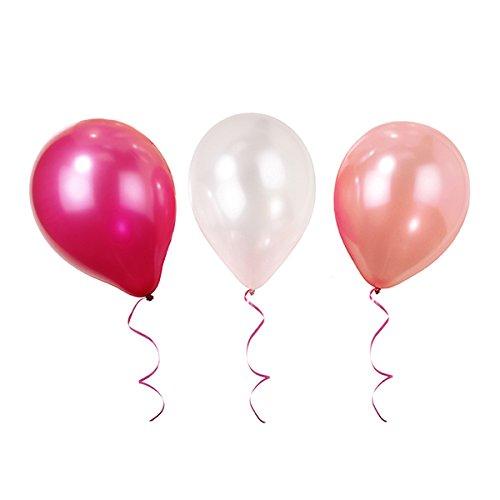 Talking Tables Luftballons für Geburtstage, Teekränzchen und Partys, Pink (12 pro Pack)