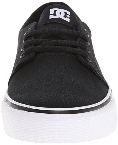 DC - Trase Tx J Shoe Bkw, Sneaker basse Donna Multicolore (Mehrfarbig (BLACK/WHITE- BKW))