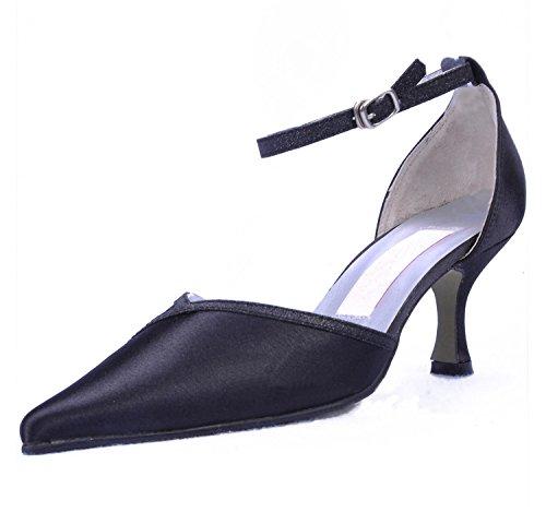 Kevin Fashion , Chaussure de mariée fashion femme Noir