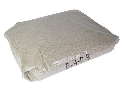 Quarzsand für Filteranlagen 25kg, 04 - 08mm Sandfilteranlage Pool Schwimmbad Swimmingpool