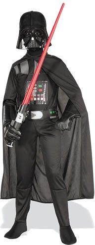 Darth Vader Costume Set Bambino, dimensioni 128/134 [Toy]
