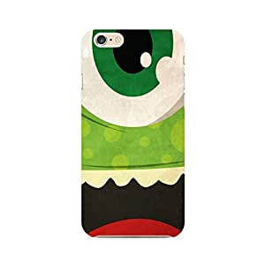 RAYITE Green Monster Premium Printed Mobile Back Case For Apple iPhone 6 Plus/6s Plus