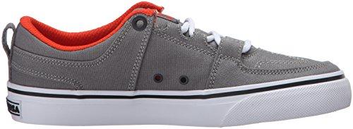 DC ShoesLynx Vulc TX - Stringata classica Bambino Grey/Orange