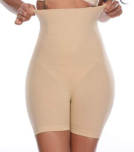 MISS MOLY Intimo Modellante Guaina Contenitiva Shapewear da Donna Vita Alta Dimagrante Pancera 4X 9cm Acciaio a Spirale Mutanda Shaping Push up Butt Lifter Elastico Pantaloncini Body Shaper