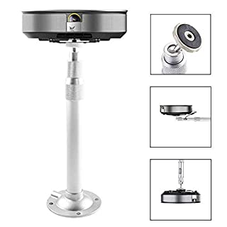 Projector Mount, Auledio Universal Extendable Projector Ceiling Mount Wall Bracket with Adjustable Height up to 15.7