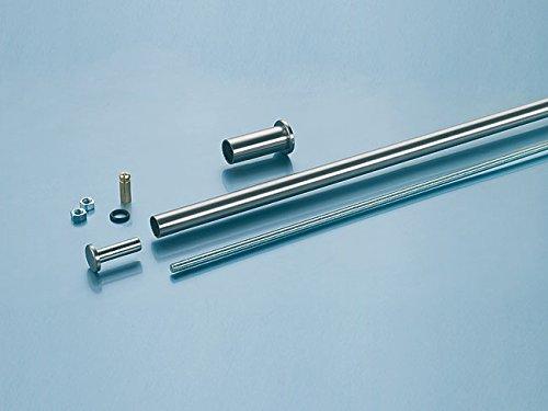Varia abhaenge System/baldacchino System/cartella System, lunghezza 500mm, color acciaio inox