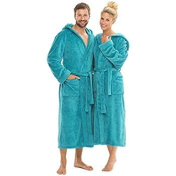 Lange oder extra lange Damen und Herren Bademäntel aus 100% BIO ...