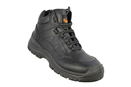 Light Year Hiker Boot S3 SRC Trekkingschuhe Sicherheitsschuhe hoch Schwarz Schwarz