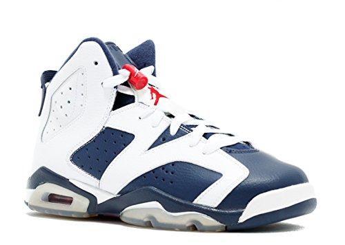 AIR Jordan 6 Retro (GS) 'Olympic 2012 Release' - 384665-130 - Size 36.5-EU