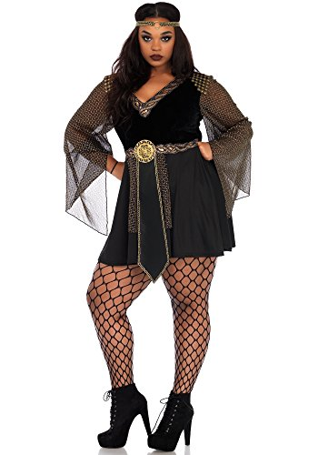 Leg Avenue 86682X Glamazon Warrior Kostüm, Schwarz, XXX-Large (EUR 46/48)