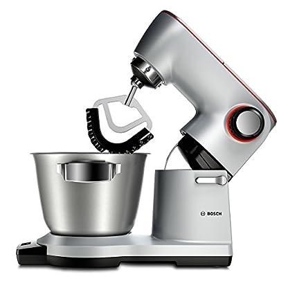 Bosch-MUM9DT5S41-OptiMUM-Kchenmaschine-1500-W-3-Profi-Rhrwerkzeuge-Edelstahl-splmaschinenfest-Automatikprogramm-55-Liter-Teigmenge-35kg-Durchlaufschnitzler-5-Scheiben-Mixer-silber