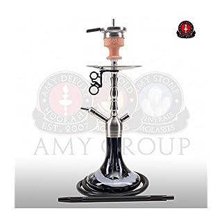 AMY Little Hammer SS10 black | Edelstahl Shisha Wasserpfeife Hookah