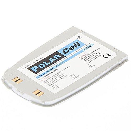 cellePhone PolarCell Akku Li-Polymer für Samsung SGH-S500 - silber ( ersetzt BST1338SE )