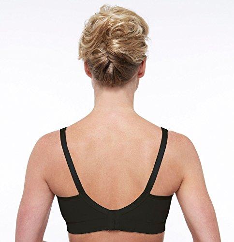 Bravado Damen Schwangerschafts-BH Body Silk Seamless Nursing Bra Schwarz