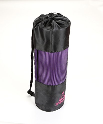 YogaYogee-Premium-Quality-Yoga-Pilates-Mat-Luxurious-12mm-Thick-with-FREE-Carry-Strap-Bag-180cm-x-60cm