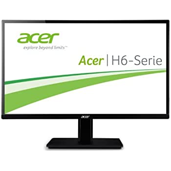 Acer H226HQLbmid 21.5 inch Widescreen IPS LED Monitor (16:9, 250 cd/m2, 100M:1, 1920 x 1080, 5ms, HDMI)