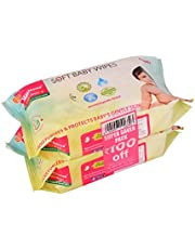 Morisons Baby Dreams Wipes 80's Combo Pack