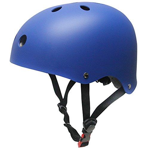 MAXNON Kinderhelm Jugend BMX Bike Skater Helm Fahrradhelm Schutzhelm Kinder Mädchen Sicherheit Verstellbar Helm Kinder Mädchen Sicherheit Verstellbar Helm
