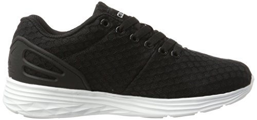 Kappa Trust 1.2, Sneakers Basses Mixte Adulte Noir (1110 Black/white)