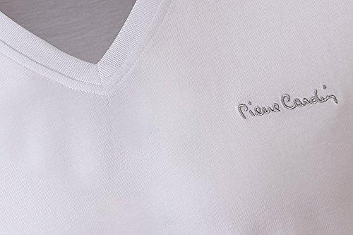 Pierre Cardin Mens neue Saison unbedingt Classic Fit V-Neck T-Shirt White