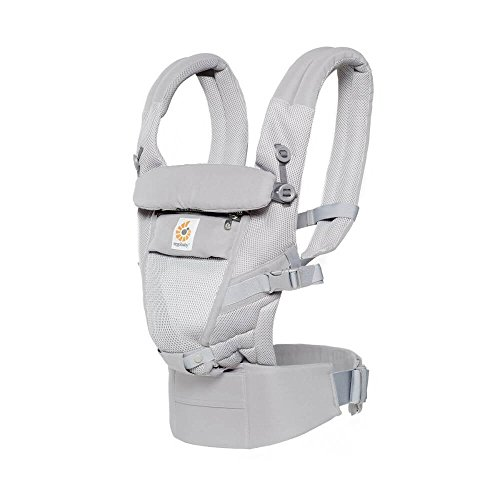 Ergobaby Adapt Cool Air – Porte-Bébés, couleur gris