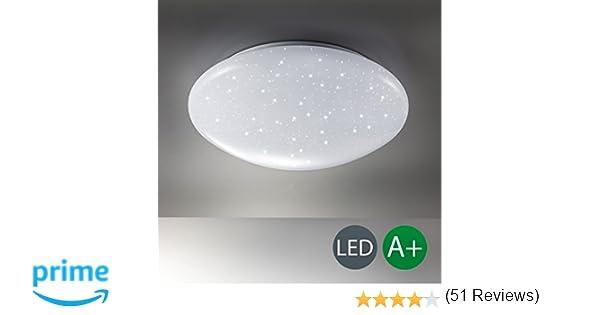 Plafoniere Con Musica : Lampada da soffitto led plafoniera luce bianca 4.000k 1.200lm
