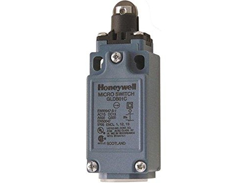 GLDB01C Limit switch plunger with metal roller Ø12,4mm NO + NC 6A HONEYWELL