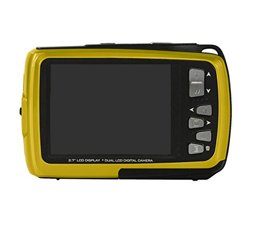 Bajo el agua impermeable cámara digital Polaroid iS085 16 Mega Pixeles con  2 pantallas (Amarillo ... 301b1b9a07
