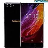 Smartphone 4G, DOOGEE Mix Telephone Portable Debloqué (Écran: 5,5 Pouce Super AMOLED - Helio P25 Octa Core - 4Go + 64Go - 16MP+5MP Double Caméras - Empreinte Digitale - Double SIM - Android 7.0) Noir