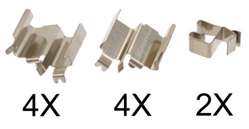 Preisvergleich Produktbild ABS 1244Q Zubehörsatz, Scheibenbremsbelag