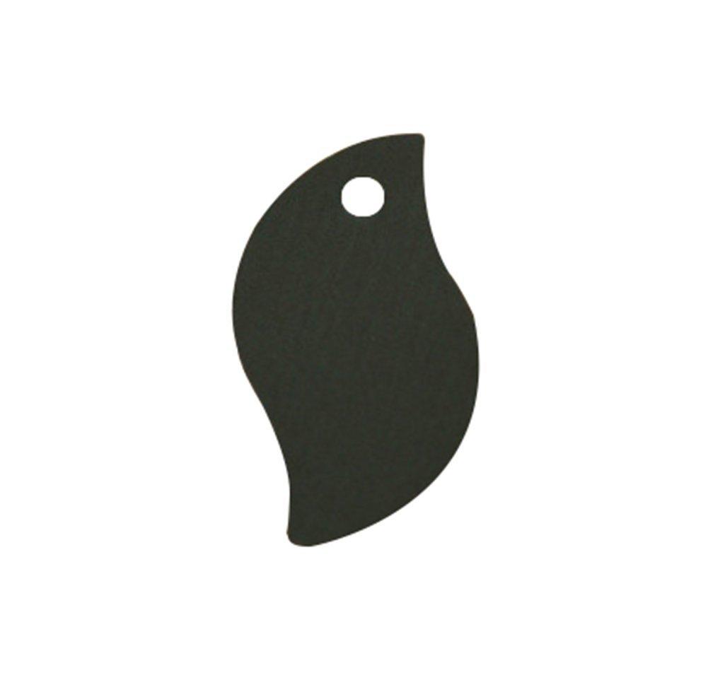 leisial 100pcs Etichette di piccola sospese di carta Kraft etichette decorazione di scheda Bianco et