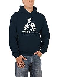 Touchlines Herren Hannibal vom A-Team Kapuzen Sweatshirt B7059