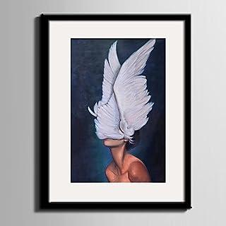 Xuanku E-Home® Arte Lienzo Enmarcado Y Leider Mujeres Lienzo Enmarcado Seite Drucken UNA Pc, 20