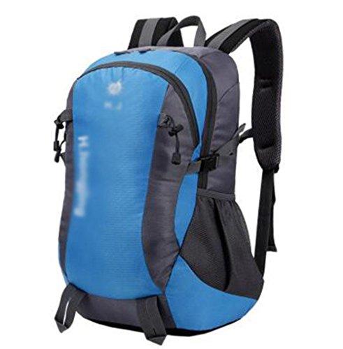 GBT Europäische Großraum-Mehrzweck-Outdoor-Bergsteigen Taschen , Blue,blue (Krippe Europäische)