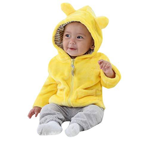 Quaan Neugeborenes Baby Jungen Mädchen Lange Ärmel Behalten Warm Mit Kapuze Mantel Kleider Schneeanzug Weihnachten Halloween warm gemütlich Baumwolle Kleiner Anzug Outwear Weste Windjacke