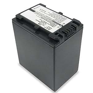 subtel® Batterie compatible avec Sony FDR-AX53 FDR-AX700 AX100 HXR-NX80 HDR-CX625 HDR-CX450 -CX900 -CX680 -CX675 HDR-PJ675 NEX-VG30 -VG10 -VG20 DCR-SR68, 2200mAh NP-FV70 -FV50 -FV100 Accu rechange