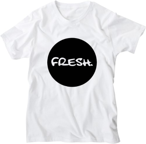 Mister Merchandise White Design Herren T-Shirt Fresh Black Weiß
