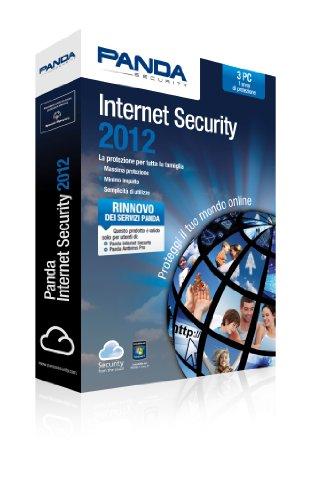 Panda Internet Security 2012, 3u, 1y, RNW, ITA - Seguridad y antivirus (3u, 1y, RNW, ITA, Renovación, 3 usuario(s), 1 Año(s), ITA, PC, 275 MB)