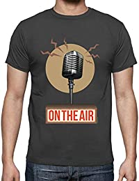 tostadora - T-Shirt Musica - Radio - sul Air II - Uomo 0719f804c6e6