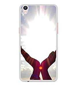 ifasho Designer Back Case Cover for Oppo R9 Plus (Yoga Jinan China Yoga Of Jesus)