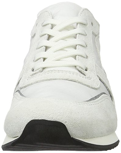 Kennel und Schmenger Schuhmanufaktur Damen Trainer Sneakers Weiß (bianco Sohle grau-weiss)