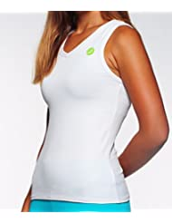 DEBÒLIT - Camiseta tirantes - extra confort en tono blanco, M