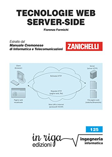 Tecnologie web server-side: Coedizione Zanichelli - in riga (in riga ingegneria Vol. 125)