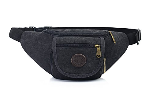 Mefly Borsa In Tela Outdoor Sports Multifunzionale Nero Con Spallamento black